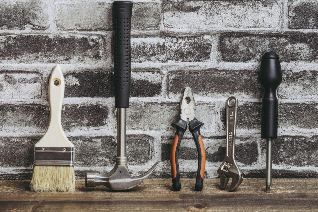 花壇作りの道具