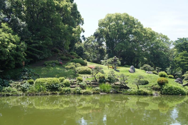 清澄庭園の富士山