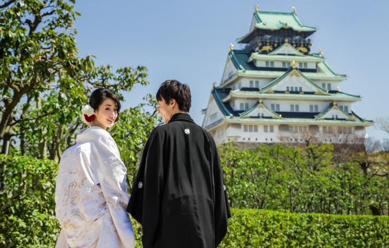 大阪城結婚式