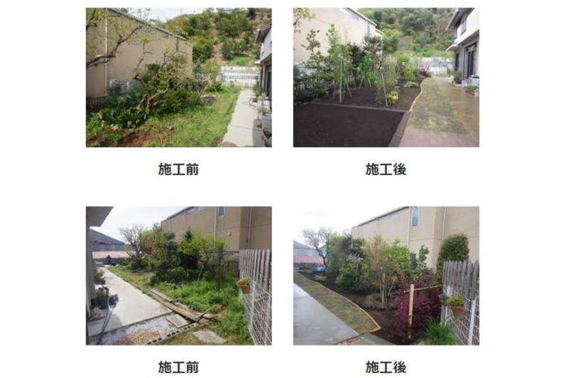 お庭リフォーム