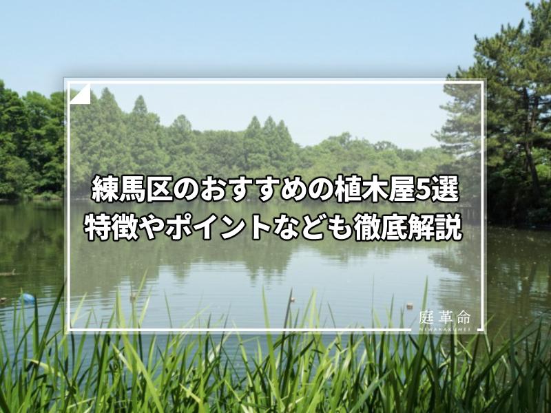 練馬区・石神井公園の三宝寺池