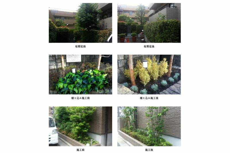 お庭の施工事例