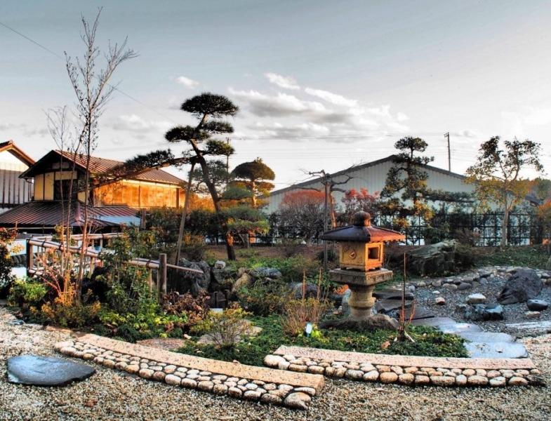 枯山水庭園施工